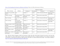 Table Apa Format How To Cite Something You Found On A Website In Apa Style