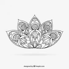 lotus flower chandelier tattoo
