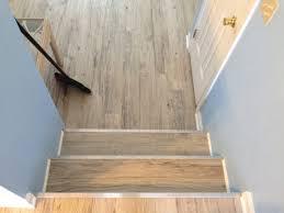 600sqft of konecto vinyl plank custom stair nose installation by s floors 302 249