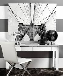 office with black decor view in gallery streamlined black and white office design