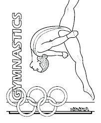 Olympic Coloring Pages Free Summer Coloring Pages Free Coloring