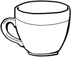 Coloring Pages Cups Teacup Coloring Page Super Coloring Intended For