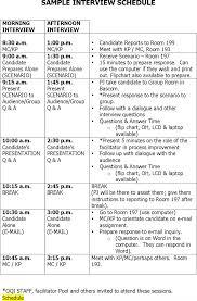 interview schedule templates premium templates interview schedule template