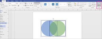 Venn Diagram Visio 2013 Create A Venn Diagram Visio