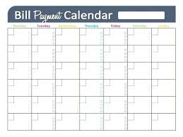 Bill Schedule Spreadsheet Show Monthly Bill Payment Template Pay