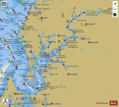 Upper Chesapeake Bay Chart Chesapeake Bay Maryland Chester River Marine Chart