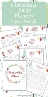Christmas Party Planning Printable Crafting A Family