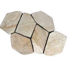 meshed flagstone paver tile 40 pieces 110 sq ft pallet