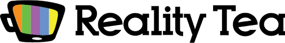 reality tv shows logo. reality tea | tv news spilled daily from your favorite shows ! tv logo t
