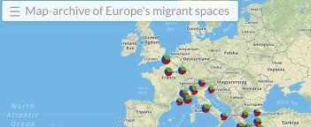 Towards A Genealogy Of Europes Migrant Spaces A Map Archive Of