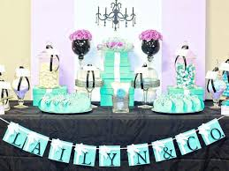 Tiffany Blue Baby Shower  Baby Shower DepotTiffany And Co Themed Baby Shower