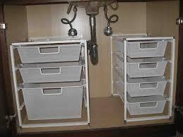 under sink cabinet storage ideas