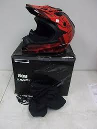 New 286781703 Polaris Altitude Snowmobile Atv Helmet Black