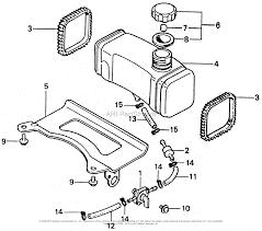 Honda hr21k2 sxam lawn mower jpn vin hr21k2 1200141 parts diagram diagram 21k2 fuel tank fuel