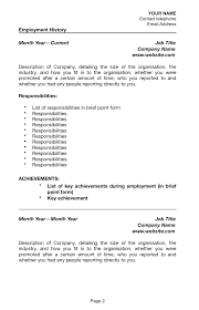 Government Job Resume How To Write A Resume For Job With Sponsorship Australia 76