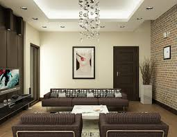 Interior Living Room Design Living Room Calm Brown Living Room With Brown Wall Look Matching