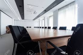 Enormous Table In A Meeting Room, Horizontal