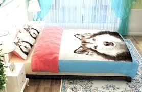 dog bedding set oil husky dog bedding duvet cover without polyester wolf wolves duvet cover king dog bedding set