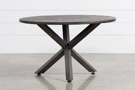 furniture round glass patio table 60 inch wrought iron regarding outdoor dining designs 15
