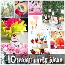 examplary easy birthday decorations diy party decor ideas partyideas 13