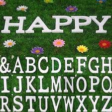 funie large wooden letter alphabet wall