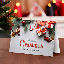 Special Blessings Christmas Card Greetings World