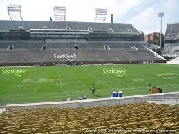 view seating charts georgia tech yellow jackets football at bobby dodd stadium cl 3 view