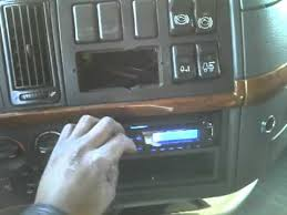 working on a semi truck (18 wheeler) install radio part 2 youtube bt-iso-din harness at Mack Truck Radio Wiring Harness