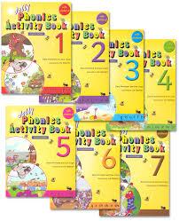Jolly Phonics Alphabet Chart Jolly Phonics Activity Books Set Of Books 1 7 In Print