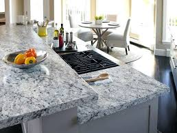 redoing formica countertops the new laminate white ice granite puts the finishing touch on any kitchen