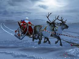 real santa claus and reindeer flying. Real Santa Claus And Reindeer Flying 08 To