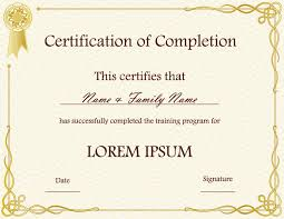 Certification Template Certificates Templates Free Certification ...