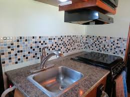 Kitchen Backsplash Installation Cost Gorgeous Blog What Backsplash Tiles Can Be Installed In A RV Smart Tiles