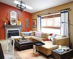 Orange Paint For Living Room Orange Paint Colors For Living Room Image Of Home Design Inspiration