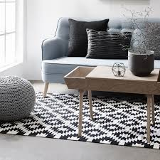 house cute black and white rugs 24 indoor rug geometric pattern carpet floor fabric stain