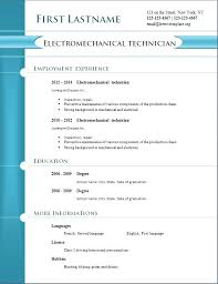 Free Resume Builder With Pdf Download Resumes Text Format In Ms Word ...