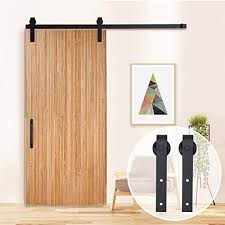 tcbunny 6 6 feet sliding door hardware closet set antique style black