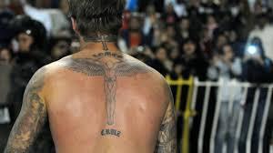 они все имеют значение татуировки дэвида бекхэма звёзды журнал Ok