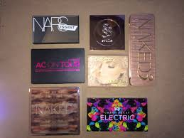 my makeup palette collection