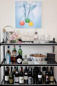 lifestyle black mini bar home