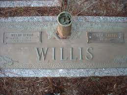 Welby Byron Willis (1915-1967) - Find A Grave Memorial