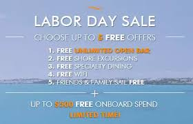 Up To 500 Credit 25 Deposits Norwegian Cruise Lines Labor Day
