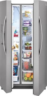 Frigidaire Vending Machines Mesmerizing Frigidaire FGSS48TF 48 Inch SidebySide Refrigerator With Chill