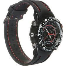 hidden cameras hidden camera accesories b h brickhouse security hd waterproof spy watch black
