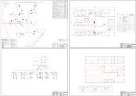 Электроснабжение различного оборудования Чертежи РУ Дипломная работа Расчет системы электроснабжение деревообрабатывающего завода