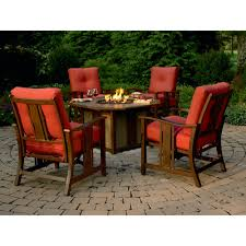 fire pit dining table. Agio International Wessington 5 Pc. Firepit Chat Set | Shop Your Way: Online Shopping \u0026 Earn Points On Tools, Appliances, Electronics More Fire Pit Dining Table