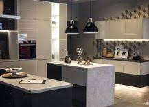 strip lighting kitchen. view in gallery undercabinet led strip lights used to illuminate the kitchen countertop lighting