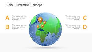 Globe Clipart Powerpoint Template Design Slidemodel