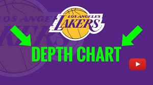 Lakers Depth Chart 2019 Los Angeles Lakers Depth Chart Analysis