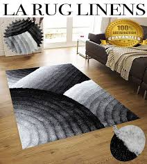 gy viscose vibrant lines design black white 8x10 la rug throughout 3d area rugs remodel 18